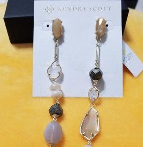 Kendra Scott- Cosette Gold/Ivory Earrings